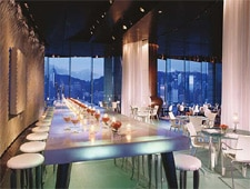 Dining room at Felix, Kowloon, hong-kong