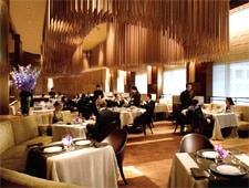 Dining room at Amber, Central, hong-kong