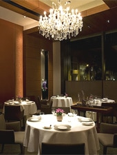 Dining room at CEPAGE, Wanchai, hong-kong
