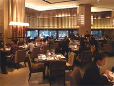 Dining room at Cafe Gray Deluxe, Admiralty, hong-kong
