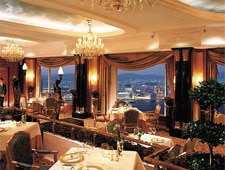 Dining room at Restaurant Petrus, Central, hong-kong