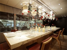 Dining room at The Krug Room, Central, hong-kong