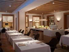 Dining room at The Principal, Wanchai, hong-kong