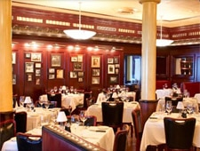 Dining Room at Pappas Bros. Steakhouse, Houston, TX