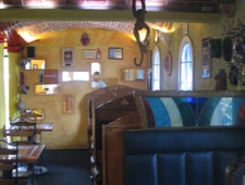 Dining room at El Pueblito Place, Houston, TX