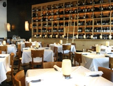 Dining room at Ibiza Food & Wine Bar, Houston, TX