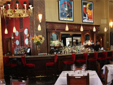 Dining room at Mockingbird Bistro, Houston, TX