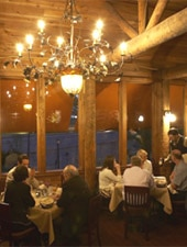 Dining Room at Rainbow Lodge, Houston, TX