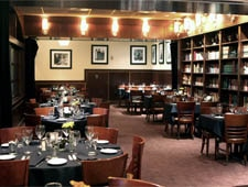 Dining room at Sullivan's Steakhouse, Indianapolis, IN