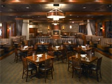 Dining room at Weber Grill Restaurant, Indianapolis, IN
