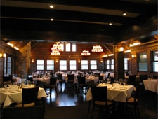 Dining room at Meridian Restaurant & Bar, Indianapolis, IN