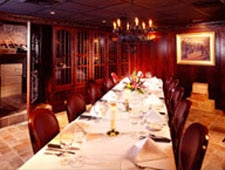 Dining room at St. Elmo Steak House, Indianapolis, IN
