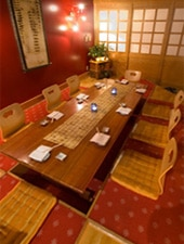 Dining room at Mikado Japanese Restaurant, Indianapolis, IN