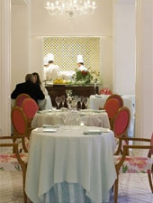 Dining room at Don Alfonso 1890, Naples, italy