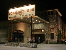 Dining room at THIS RESTAURANT IS CLOSED Cobblestones at the Creek, Jacksonville, FL