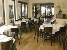 Dining Room at Caffe Roma, Beverly Hills, CA