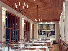 Dining Room at Il Fornaio, Beverly Hills, CA