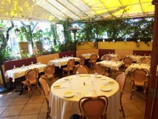 Dining Room at Il Piccolino, West Hollywood, CA