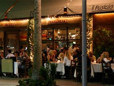 Dining room at Il Pastaio, Beverly Hills, CA