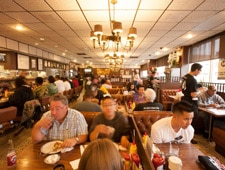 Dining Room at Langer's Deli, Los Angeles, CA