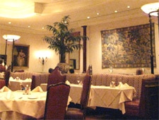 Dining room at Lawry's The Prime Rib, Beverly Hills, CA