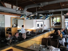 Dining room at The Lobster, Santa Monica, CA