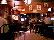 Dining Room at O'Brien's Irish Pub & Restaurant, Santa Monica, CA