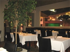 Dining room at Talesai, West Hollywood, CA