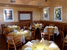 Dining Room at Tra di Noi, Malibu, CA