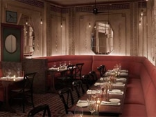 Dining room at Bar Marmont, West Hollywood, CA