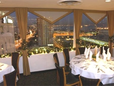 Dining Room at The Sky Room, Long Beach, CA