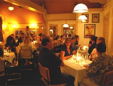Dining Room at Cafe Bizou, Sherman Oaks, CA