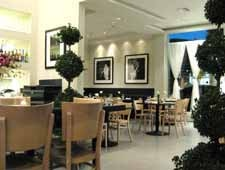 Dining Room at Petrossian Boutique & Restaurant, West Hollywood, CA