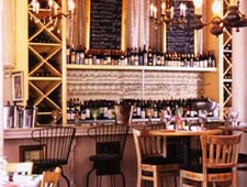 Dining room at Primitivo Wine Bistro, Venice, CA