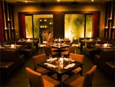 Dining room at Koi, West Hollywood, CA