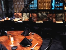 Dining Room at Katana, West Hollywood, CA
