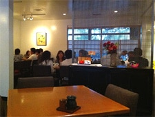 Dining room at Torafuku, Los Angeles, CA