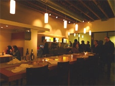 Dining room at Nook Neighborhood Bistro, Los Angeles, CA