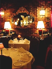Dining Room at La Dolce Vita, Beverly Hills, CA