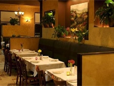 Dining room at Vivoli Cafe & Trattoria, West Hollywood, CA