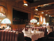 Dining room at Ristorante Peppone, Los Angeles, CA