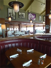 Dining room at Bluewater Grill, Redondo Beach, CA