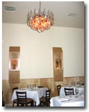 Dining room at Palmeri Ristorante, Los Angeles, CA