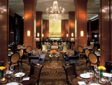Dining room at TheBlvd, Beverly Hills, CA