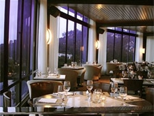 Dining room at WEST Restaurant & Lounge, Los Angeles, CA