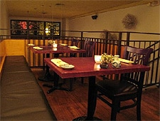 Dining room at Jinpachi, West Hollywood, CA