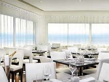 Dining room at The Penthouse at Huntley Santa Monica Beach, Santa Monica, CA