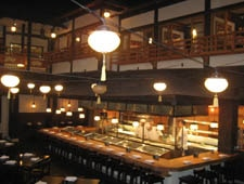 Dining room at THIS RESTAURANT IS CLOSED Gonpachi, Beverly Hills, CA