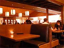 Dining room at Salt Creek Grille, El Segundo, CA