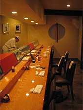 Dining room at Bar Hayama, Los Angeles, CA